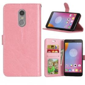Mobile Wallet 3 -kortti Lenovo K6 Note - vaaleanpunainen
