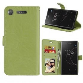 Kannettava lompakko 3 -kortti Sony Xperia XZ1 - vihreä