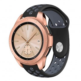 EBN Sport -rannekoru Samsung Galaxy Watch 42mm Musta-Harmaa