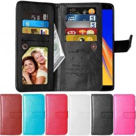 Kaksinkertainen läppä Flexi 9 -kortti Samsung Galaxy J4 Plus (SM-J415F)