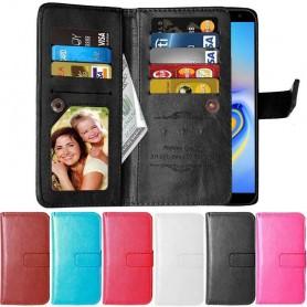Kaksinkertainen läppä Flexi 9 -kortti Samsung Galaxy J6 Plus (SM-J610F)