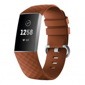 Sport Fitbit Charge 3: lle - ruskea