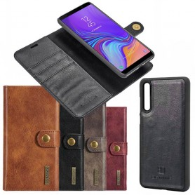Kannettava lompakko Magneettinen DG Ming Samsung Galaxy A7 2018 irrotettava kannettava kuorilaukku