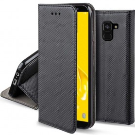 Moozy Smart Magnet FlipCase Samsung Galaxy J6 Plus kannettava kansi