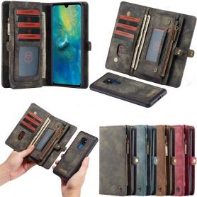 CaseMe Wallet 11 -kortti Huawei Mate 20 (HMA-L29) Magnetic 2i1-matkapuhelinkotelo Caseonline