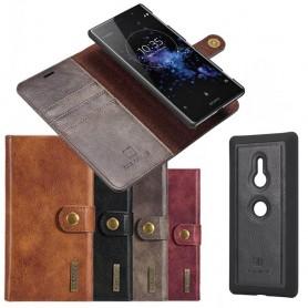 Matkapuhelimen magneettinen DG Ming Sony Xperia XZ3-matkapuhelinlaukku