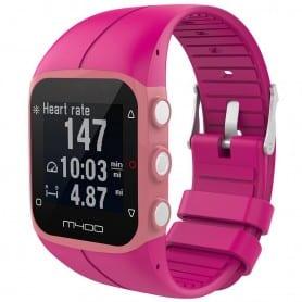 Sport Polar M400 / M430HR: lle - tumman vaaleanpunainen