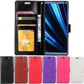 Kannettava lompakko 3 -kortti Sony Xperia 10 (I4113) matkapuhelinkotelo Caseonline