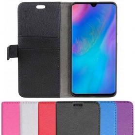 Kannettava lompakko 2-kortti Huawei P30 matkapuhelimen kotelo