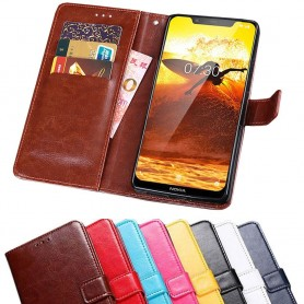 Kannettava lompakko 3-kortti Nokia 8.1 2018 (TA-1128)