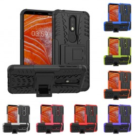 Iskunkestävä matkapuhelinjalusta Nokia 3.1 Plus (TA-1118) -kasetonilla