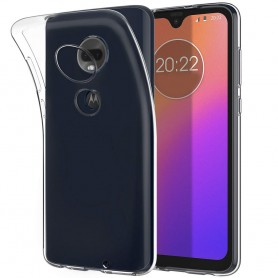 Silikonikotelo läpinäkyvä Motorola Moto G7 (XT1962) matkapuhelimen suojakotelo