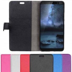 Mobile Wallet 2 -kortti Nokia 9 PureView (TA-1094) matkapuhelimen suojakotelo
