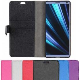 Kannettava lompakko 2 -kortti Sony Xperia 10 (i4113) -kannettava suoja