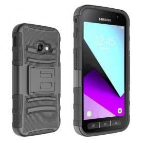 Iskunkestävä kuori kotelolla Samsung Galaxy xcover4 sm-g390f matkapuhelimen kuori 3i1
