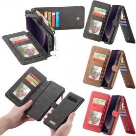 CaseMe lompakko-14-kortti-Samsung- Galaxy -S10E-SM-G970F -kotelo-kotelo-kuori-kotelonlinja