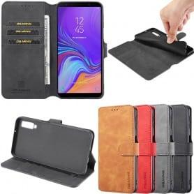 Mobile-lompakko DG-Ming 3 -kortti Samsung Galaxy A7 2018 (SM-A750F) matkapuhelinkotelo Caseonline