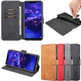 DG-Ming matkalaukku 3-kortti Huawei Mate 20 Lite (SNE-LX1) -kotelo matkapuhelinkotelo