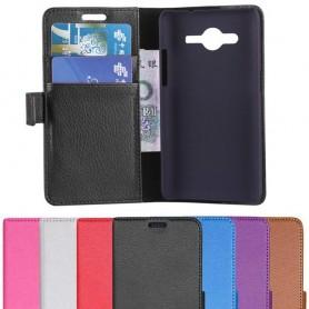 Samsung Galaxy Core 2 Mobile Wallet 2 -korttikotelo