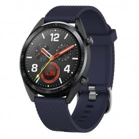 Sport Huawei Watch GT / Magic / TicWatch Pro - tummansininen