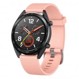 Sport Huawei Watch GT / Magic / TicWatch Pro - vaaleanpunainen