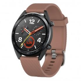 Sport Huawei Watch GT / Magic / TicWatch Pro - ruskea
