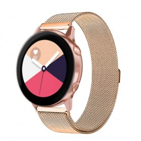 Milanese RSF teräsrannekoru Samsung Galaxy Watch Active -Kulta
