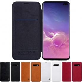 Nillkin Qin FlipCover Samsung Galaxy S10 Plus (SM-G975F) matkapuhelimen kuorikotelo