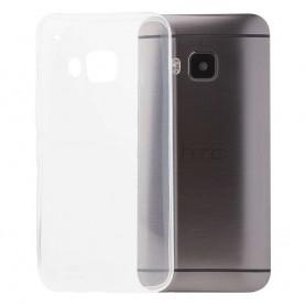 HTC One M9 silikoni läpinäkyvä