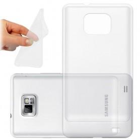 Galaxy S2 / S2 Plus silikoni läpinäkyvä