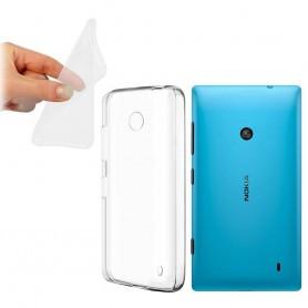 Nokia Lumia 520 -silikonin on oltava läpinäkyvä