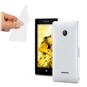 Microsoft Lumia 435 -silikonin on oltava läpinäkyvää