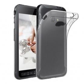 Samsung Galaxy Xcover 4 SM-G390F ohut silikonikotelo läpinäkyvä