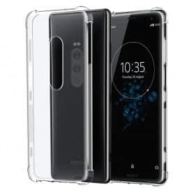 Shockproof silikonikuori Sony Xperia 1 matkapuhelimen kuori kestävä iskunkestävä kaseoniini