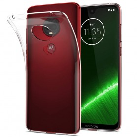 Silikonikotelo läpinäkyvä Motorola Moto G7 Plus (XT1965)