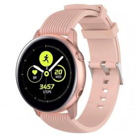 Sport RIB Samsung Galaxy Watch Active - vaaleanpunainen