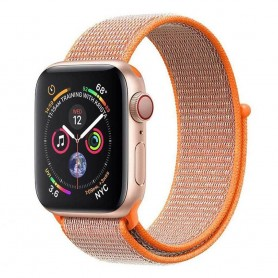 Apple Watch 4 (40 mm) nailonrannekoru tarranauha - Spicy Orange