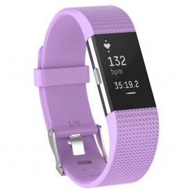 Sport Fitbit Charge 2: lle - violetti