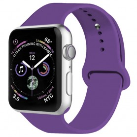 Apple Watch 4 (44mm) Sport Käsivarsikotelo - Purple