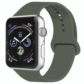 Apple Watch 4 (44mm) Sport Käsivarsikotelo - Tumma oliivi