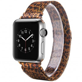 Apple Watch 4 (44) rannekoru Milanese - Leopard