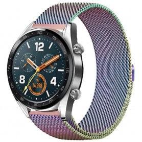 Milanese RSF Steel Huawei Watch GT / Magic / TicWatch Pro - Rainbow