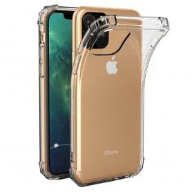 Mobiili Shockproof Apple iPhone XI Max 2019 pehmeä läpinäkyvä