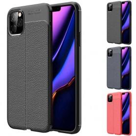 Nahkakuvioinen mobiili kuori silikoni Apple iPhone XI Max 2019