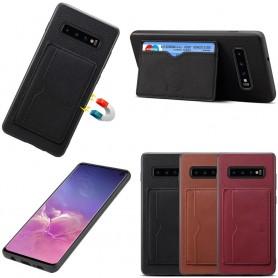 Denior nahkakotelo ja kolikkopelit Samsung Galaxy S10 (SM-G970F)
