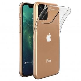 Silikonikuori läpinäkyvä Apple iPhone XI Max 2019