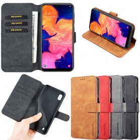 DG-Ming matkalaukku lompakko 3-kortti Samsung Galaxy A10 (SM-A105F) -kotelo