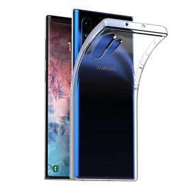 Silikonikotelo läpinäkyvä Samsung Galaxy Note 10 Pro (SM-N975F)