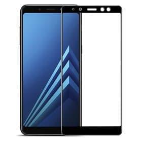 3D-kaareva lasi-näytönsuoja Samsung Galaxy A8 Plus 2018 SM-G730F -näytönsuoja