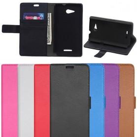Matkapuhelin lompakko Xperia E4